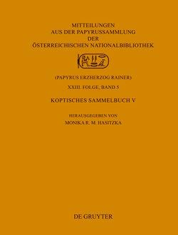 Koptisches Sammelbuch V von Hasitzka,  Monika R. M.