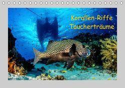 Korallen-Riffe Taucherträume (Tischkalender 2019 DIN A5 quer) von Caballero,  Sascha