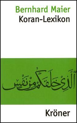 Koran-Lexikon von Maier,  Bernhard