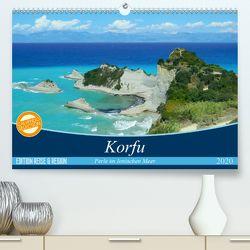 Korfu, Perle im Ionischen Meer (Premium, hochwertiger DIN A2 Wandkalender 2020, Kunstdruck in Hochglanz) von Vogel,  Carmen