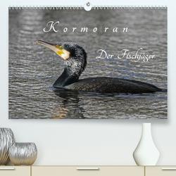 Kormoran. Der Fischjäger (Premium, hochwertiger DIN A2 Wandkalender 2020, Kunstdruck in Hochglanz) von Konieczka,  Klaus