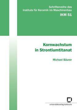 Kornwachstum in Strontiumtitanat von Bäurer,  Michael