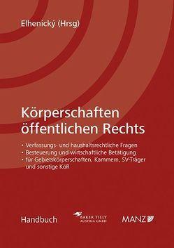 Körperschaften öffentlichen Rechts von Elhenický,  Richard