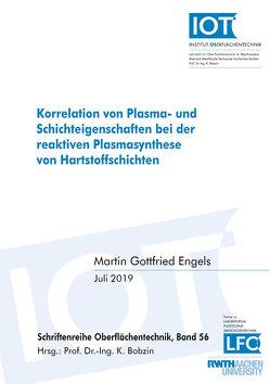 Korrelation von Plasma- und Schichteigenschaften bei der reaktiven Plasmasynthese von Hartstoffschichten von Engels,  Martin Gottfried
