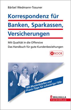 Korrespondenz für Banken, Sparkassen, Versicherungen von Wedmann-Tosuner,  Bärbel