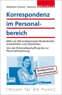 Korrespondenz im Personalbereich von Neumair,  Martina, Wedmann-Tosuner,  Bärbel
