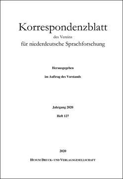 Korrespondenzblatt des Vereins für niederdeutsche Sprachforschung