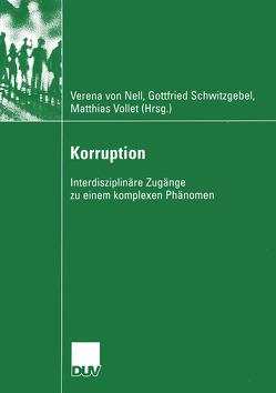 Korruption von Nell,  Verena, Schwitzgebel,  Friedrich, Vollet,  Matthias