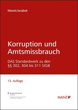 Korruption und Amtsmissbrauch von Jerabek,  Robert, Marek,  Eva