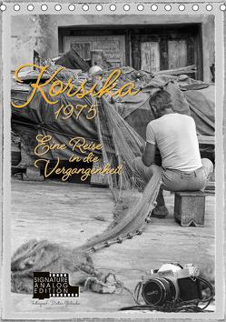Korsika 1975 – Eine Reise in die Vergangenheit (Tischkalender 2020 DIN A5 hoch) von Gödecke,  Dieter