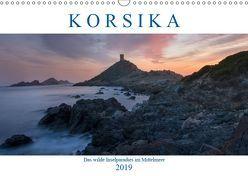 Korsika, das wilde Inselparadies im Mittelmeer (Wandkalender 2019 DIN A3 quer) von Kruse,  Joana