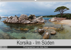 Korsika – Im Süden (Wandkalender 2019 DIN A2 quer) von Zech,  Ade