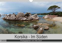 Korsika – Im Süden (Wandkalender 2020 DIN A4 quer) von Zech,  Ade