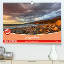 Korsika – Insel der Gegensätze (Premium, hochwertiger DIN A2 Wandkalender 2021, Kunstdruck in Hochglanz) von Schmidt,  Ralf