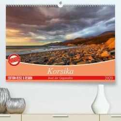 Korsika – Insel der Gegensätze (Premium, hochwertiger DIN A2 Wandkalender 2020, Kunstdruck in Hochglanz) von Schmidt,  Ralf