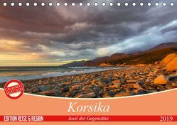 Korsika – Insel der Gegensätze (Tischkalender 2019 DIN A5 quer) von Schmidt,  Ralf