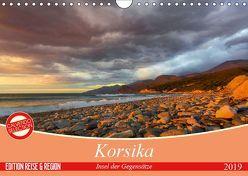 Korsika – Insel der Gegensätze (Wandkalender 2019 DIN A4 quer) von Schmidt,  Ralf