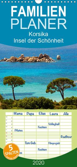 Korsika Insel der Schönheit – Familienplaner hoch (Wandkalender 2020 , 21 cm x 45 cm, hoch) von Scholz,  Frauke