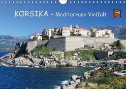 Korsika – Mediterrane Vielfalt (Wandkalender 2018 DIN A4 quer) von Becker,  Bernd