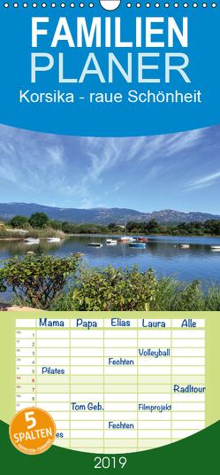 Korsika – raue Schönheit – Familienplaner hoch (Wandkalender 2019 , 21 cm x 45 cm, hoch) von Jordan,  Andreas