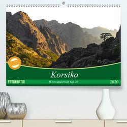 Korsika – Weitwanderweg GR 20 (Premium, hochwertiger DIN A2 Wandkalender 2020, Kunstdruck in Hochglanz) von Vogel,  Carmen