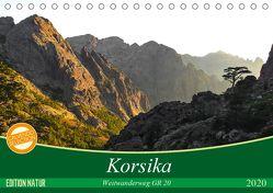 Korsika – Weitwanderweg GR 20 (Tischkalender 2020 DIN A5 quer) von Vogel,  Carmen