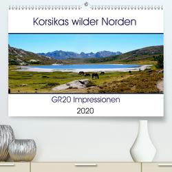 Korsikas wilder Norden. GR20 Impressionen (Premium, hochwertiger DIN A2 Wandkalender 2020, Kunstdruck in Hochglanz) von Braun,  Nathalie