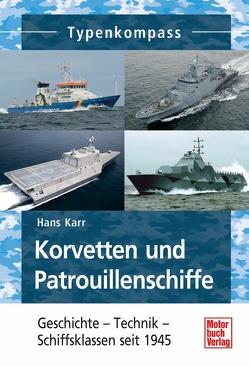 Korvetten und Patrouillenschiffe von Karr,  Hans