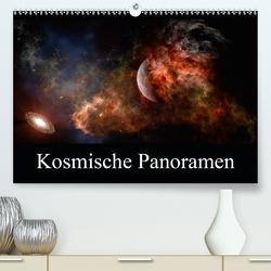 Kosmische Panoramen (Premium, hochwertiger DIN A2 Wandkalender 2021, Kunstdruck in Hochglanz) von Gaymard,  Alain