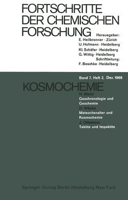 Kosmochemie von Meier,  Hans, Ottermann,  J., Wänke,  H.