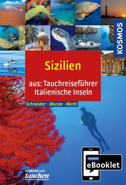 KOSMOS eBooklet: Tauchreiseführer Sizilien von Monza,  Leda, Motti,  Martino, Schneider,  Frank