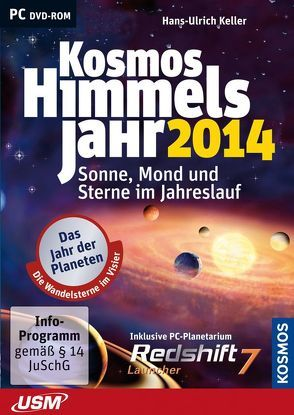 Kosmos Himmelsjahr 2014 (DVD-ROM)