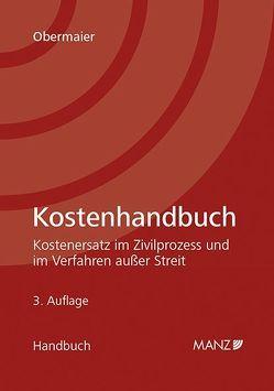Kostenhandbuch von Obermaier,  Josef
