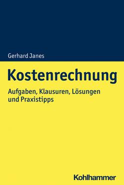 Kostenrechnung von Janes,  Gerhard