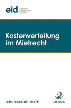 Kostenverteilung im Mietrecht von eid Evangelischer Immobilienverband Deutschland e.V.