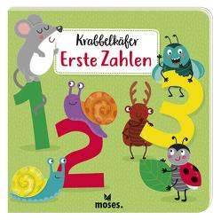 Krabbelkäfer Erste Zahlen von Kretzmann,  Sandra