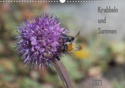 Krabbeln und Summen (Wandkalender 2021 DIN A3 quer) von Mahrhofer,  Verena