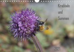 Krabbeln und Summen (Wandkalender 2021 DIN A4 quer) von Mahrhofer,  Verena