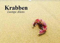 Krabben. Lustige Aliens (Wandkalender 2020 DIN A3 quer) von Stanzer,  Elisabeth