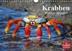 Krabben. Witzige Monster (Wandkalender 2019 DIN A4 quer) von Stanzer,  Elisabeth