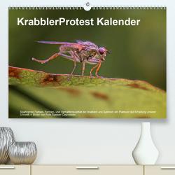 KrabblerProtest Kalender (Premium, hochwertiger DIN A2 Wandkalender 2021, Kunstdruck in Hochglanz) von Speiser-Courvoisier,  Felix