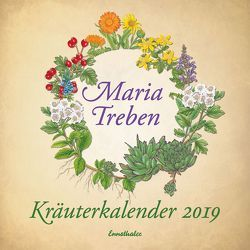 Kräuterkalender 2019 von Treben,  Maria
