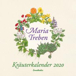 Kräuterkalender 2020 von Treben,  Maria