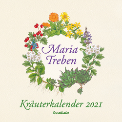 Kräuterkalender 2021 von Treben,  Maria