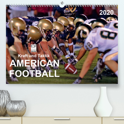 Kraft und Taktik – American Football (Premium, hochwertiger DIN A2 Wandkalender 2020, Kunstdruck in Hochglanz) von Roder,  Peter