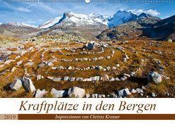 Kraftplätze in den Bergen (Wandkalender 2019 DIN A2 quer) von Kramer,  Christa