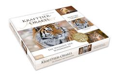 Krafttier-Orakel (Buch mit Orakel-Karten in Geschenkbox) von Weidner,  Christopher A.