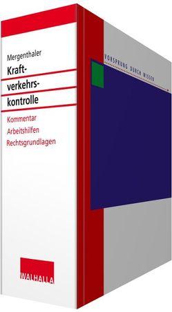 Kraftverkehrskontrolle von Mergenthaler,  Jörg