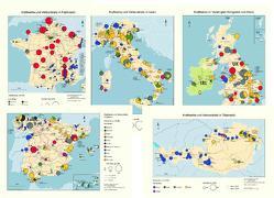 Kraftwerke und Verbundnetze in Europa. 14 Detailkarten europäischer Staaten mit insgesamt ca. 1000 Kraftwerken ab 100 MW sowie Höchstspannungsnetze. (CD-ROM) – Kartenset von Kuhs,  Gunter, Schneider,  Joerg