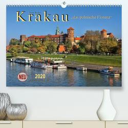 Krakau – das polnische Florenz (Premium, hochwertiger DIN A2 Wandkalender 2020, Kunstdruck in Hochglanz) von Roder,  Peter